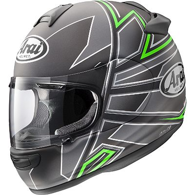Arai Vector-2 Hawk Green Frost Full Face Helmet - riderschoice.ca - Canada