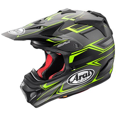 Arai VX-PRO4 Sly Yellow Adventure/Off Road/Dual Sport Full Face Helmet - Canada