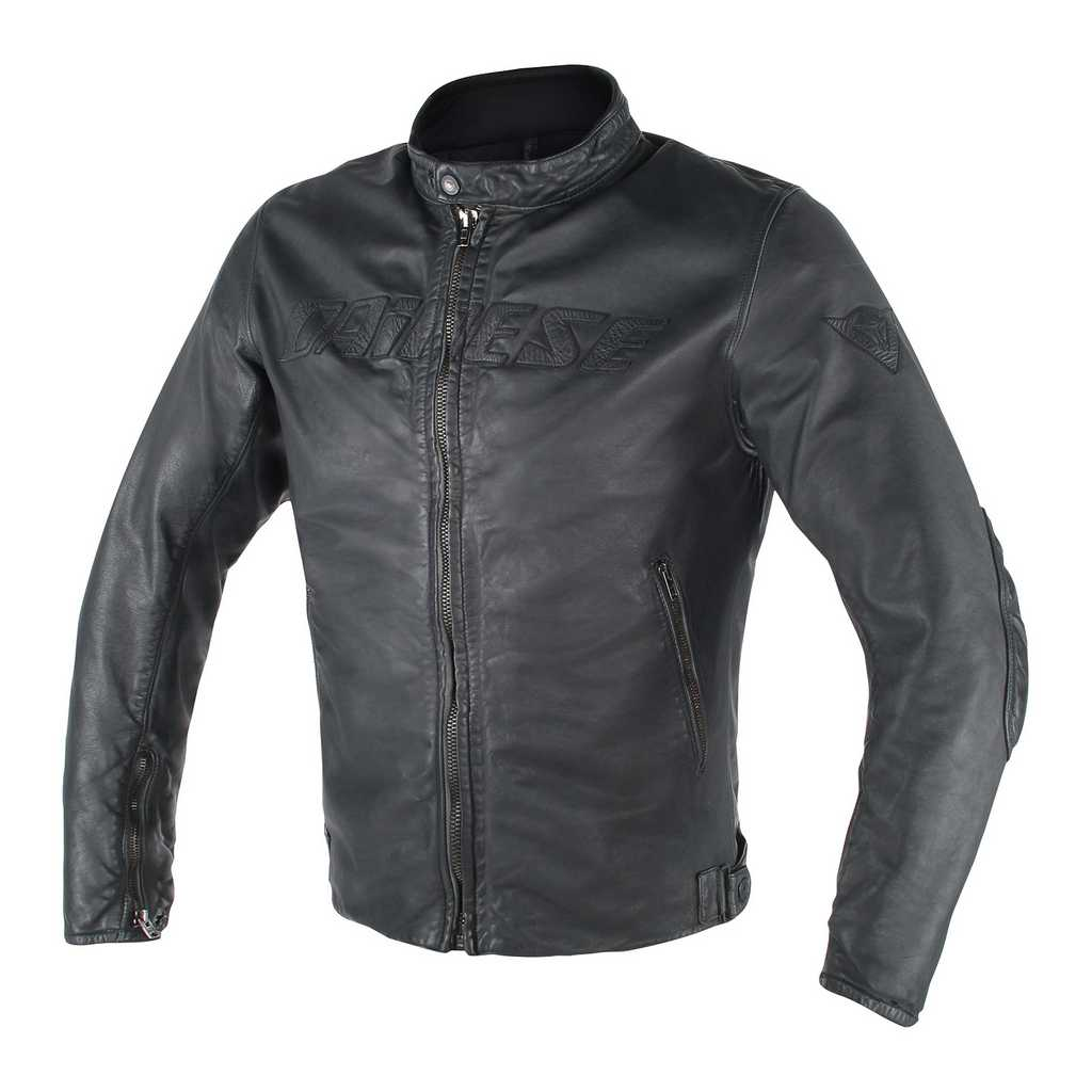 Mascot leather jacket