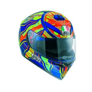 AGV K-3 SV Top 5 Continents Full Face Helmet - riderschoice.ca - Canada