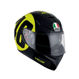 AGV K-3 SV Replica Bollo 46 Black - Yellow Full Face Helmet - Canada