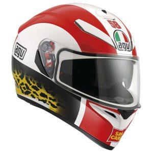AGV K-3 SV Replica Simoncelli Full Face Helmet - Riderschoice.ca - Canada