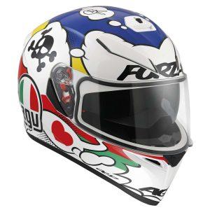 AGV K-3 SV Multi Comic Full Face Helmet -riderschoice.ca - Canada