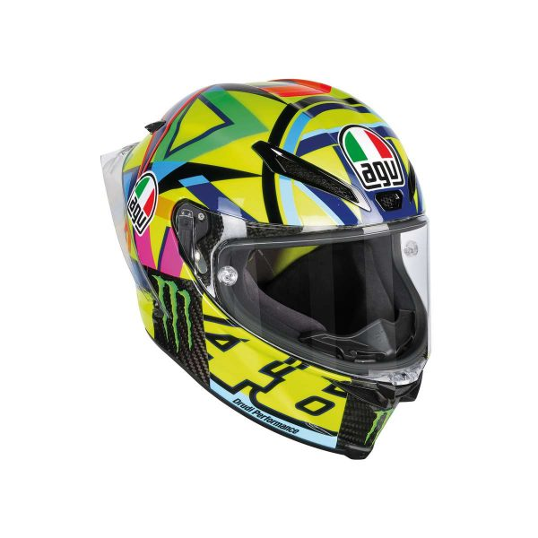 AGV Pista GP R Top Soleluna 2016 (Monster) Full Face Helmet - riderschoice.ca - Canada