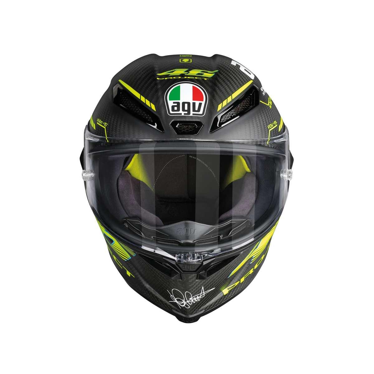 Agv Pista Gp R Top Project 46 2 0 Full Face Helmet