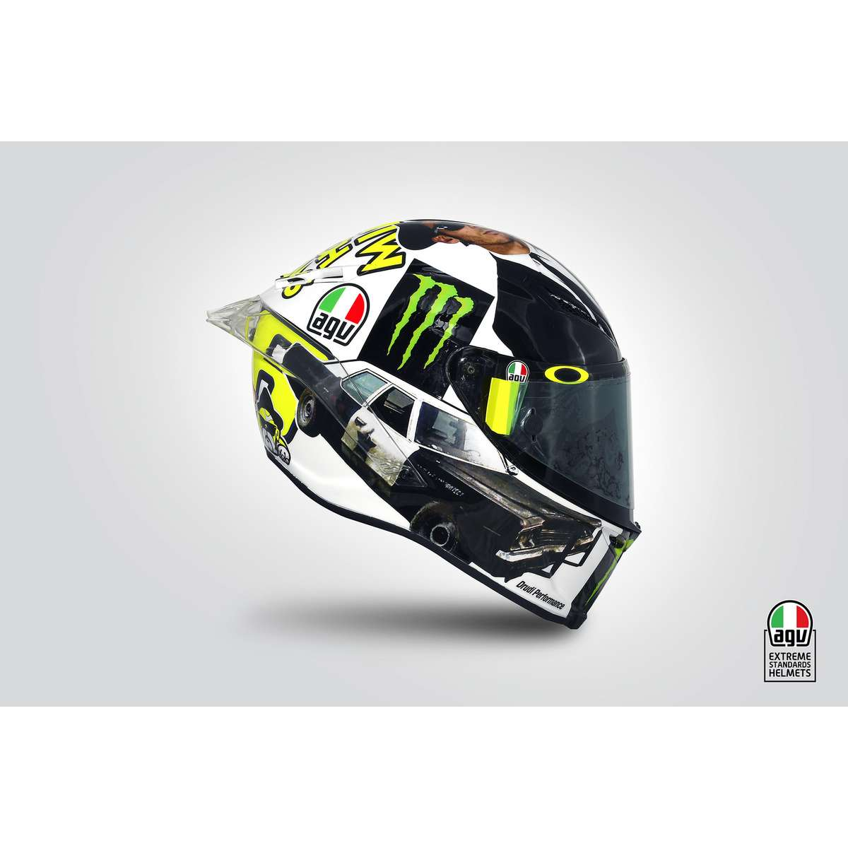 agv pista gp r top rossi misano 2016 full face helmet. Black Bedroom Furniture Sets. Home Design Ideas