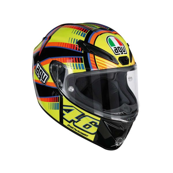 AGV Veloce S Top Soleluna Full Face Helmet - riderschoice.ca - Canada
