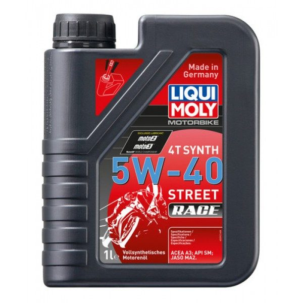 Liqui Moly 4T Race Full Synthetic Oil