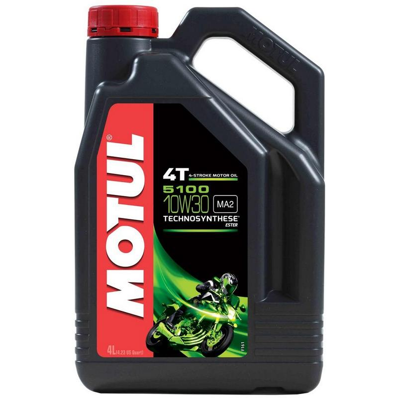 Motul 5100 4T Semi Synthetic Oil