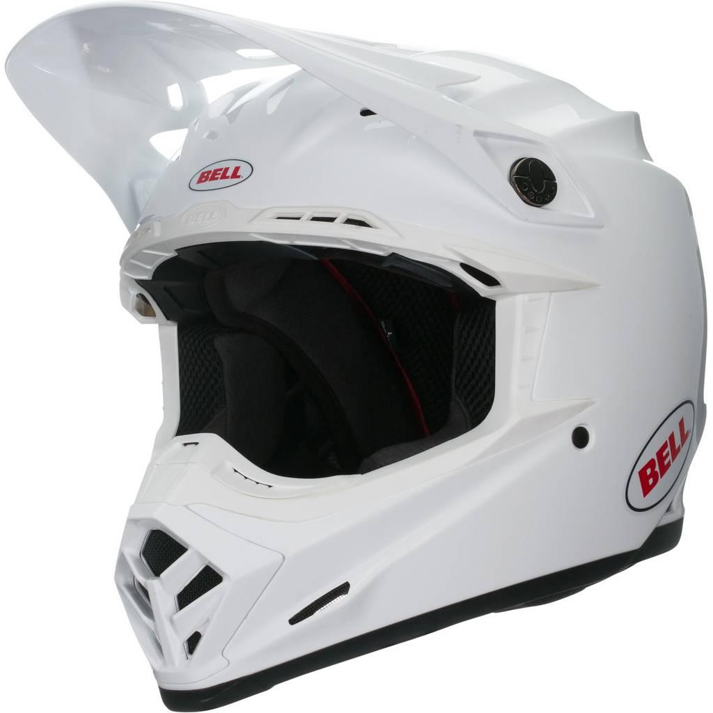 6a9e7e7d2fb40 Bell Moto-9 MIPS Gloss Full Face Off-Road Helmet