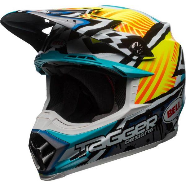 47ace6bb4f966 Bell Moto-9 MIPS Tagger Full Face Off-Road Helmet